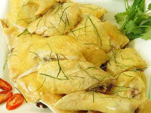 Thịt gà đồi Tam Đảo