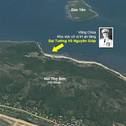 Vũng Chùa – Đảo Yến nơi an nghỉ cuối cùng của Đại tướng Võ Nguyên Giáp