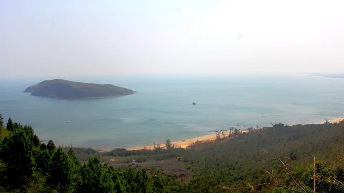 Khung cảnh nhìn từ  đỉnh Thọ Sơn