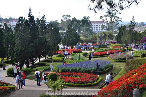 Không gian Công viên hoa Đà Lạt