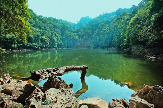 Ao Tiên trong vườn quốc gia Ba Bể