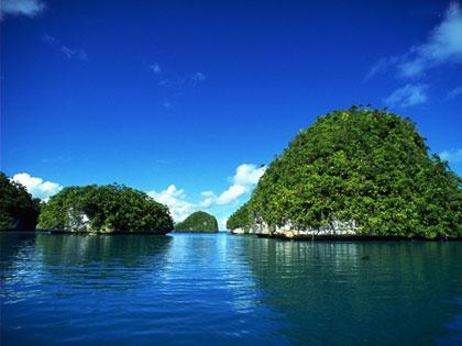 hơn 40 hòn đảo lớn nhỏ