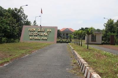 Cổng vào vườn quốc gia