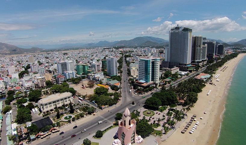Quảng trường trung tâm tp Nha Trang.
