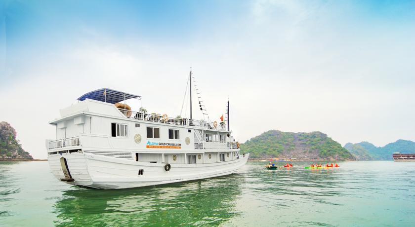 Du thuyền Alova Gold Hạ Long
