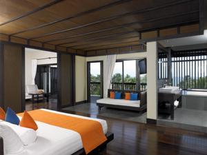 Biệt thự 2 phòng ngủ có hồ bơi nhìn ra vườn