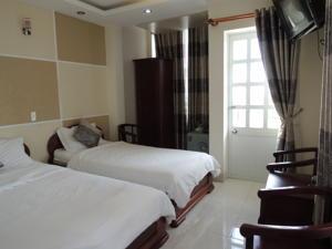 Phòng 2 Giường đơn Tiêu chuẩn có Ban công