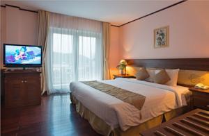 Phòng Deluxe giường đôi có Tầm nhìn ra Đại dương