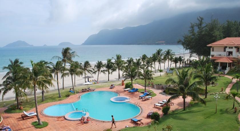 Khách sạn ở Côn Đảo có hướng nhìn ra biển rất đẹp.