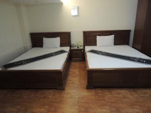 Phòng Deluxe gồm 2 Giường đơn và Bồn tắm