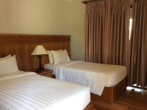 Phòng Executive Giường đôi/2 Giường đơn Nhìn ra Vườn