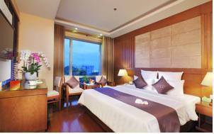 Phòng Premium Deluxe Giường Đôi/2 Giường Đơn Nhìn ra Thành phố