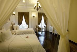 Phòng Deluxe 2 Giường Đơn với Tầm nhìn ra Toàn cảnh