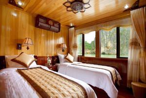 Phòng có 2 Giường đơn - 2 Ngày 1 Đêm