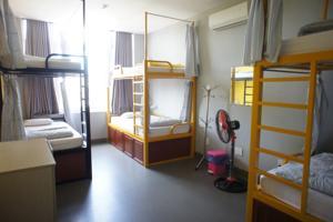 Giường trong Phòng ngủ tập thể cả Nam và Nữ 6 Giường