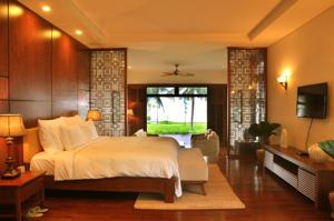 Biệt thự 1 Phòng ngủ nhìn ra Hồ bơi