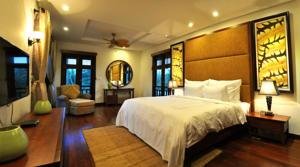 Biệt thự 2 phòng ngủ nhìn ra Hồ bơi