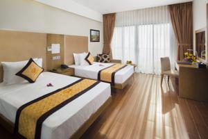 Ưu đãi Đặc biệt - Phòng Deluxe Giường Đôi/2 Giường Đơn kèm Bồn tắm Bùn