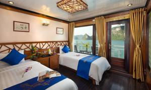 Suite có giường cỡ Queen Nhìn ra Biển - 3 Ngày 2 Đêm