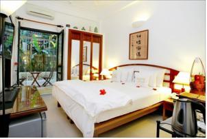 Phòng Superior Giường Đôi Nhìn ra Vườn