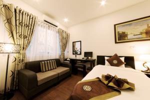 Phòng Premium 2 Giường Đơn với Cửa sổ