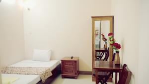 Phòng đơn Classic với vòi tắm hoa sen