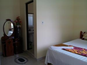 Phòng 3 người với Phòng tắm Chung