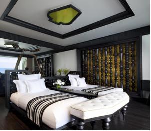 Phòng Sơn Trà Queen có 2 Giường Cỡ Queen và Tầm nhìn ra Đại dương