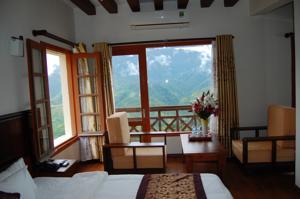 Phòng Deluxe Nhìn ra quang cảnh Núi