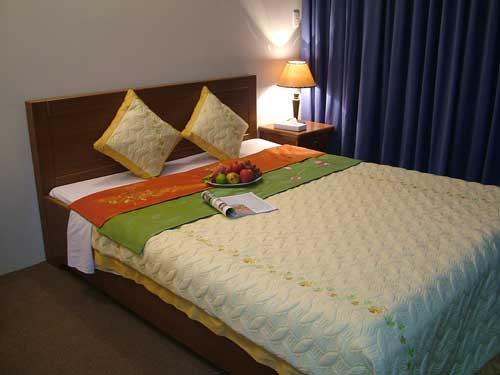 Room class 1 ( view đẹp, phòng rộng, Double bed )