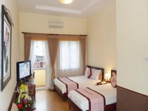 Phòng đôi hoặc phòng 2 giường đơn cổ điển nhìn ra thành phố