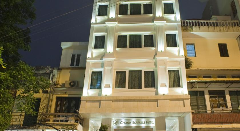 Khách Sạn Church Boutique Hàng Gai