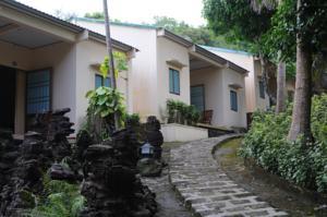 Phòng Superior đôi 2 giường đơn nhìn ra vườn