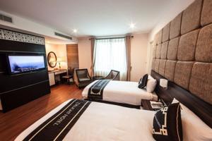 Phòng Executive Giường đôi hoặc 2 Giường đơn Nhìn ra Hồ nước