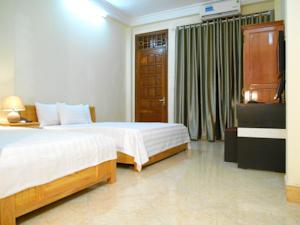 Phòng Deluxe Giường Đôi/2 Giường Đơn kèm Vòi sen