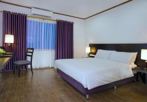 Phòng Superior Giường đôi/2 Giường đơn với Dịch vụ Đón tại Sân bay