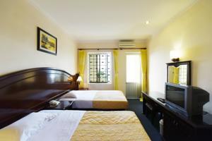 Phòng Superior 2 Giường đơn có Ban công & Nhìn ra Biển