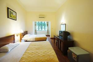 Phòng Tiêu chuẩn 2 Giường có Ban công và Nhìn ra Biển