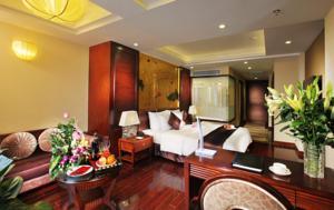 Luxury Suite có Ban công