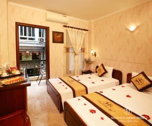 Phòng Superior giường đôi hoặc 2 giường đơn có ban công