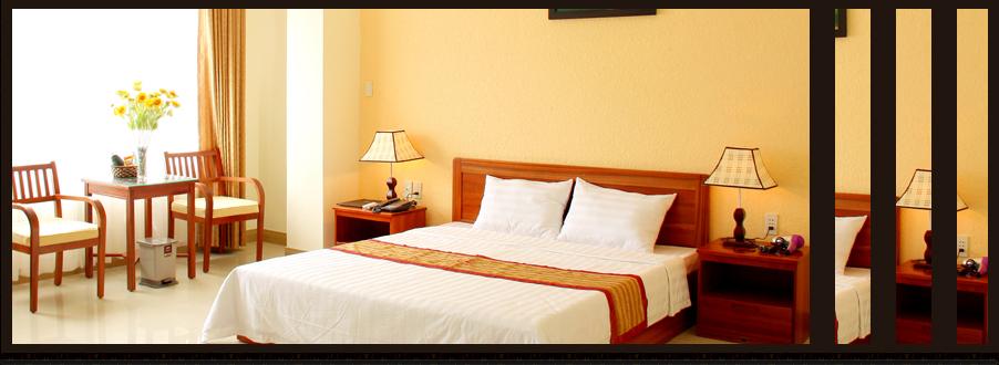 Room 1 bed 1m6