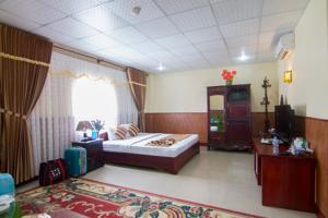 Phòng Deluxe Đôi hoặc 2 Giường đơn nhìn ra Sông