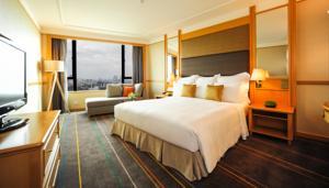 Hãy thoát Khỏi Cuộc sống Thường nhật theo Cách riêng của bạn - Phòng Giường Đôi với Tầm nhìn Hướng ra Thành phố