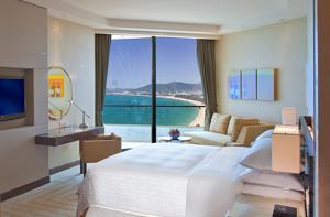 Phòng Deluxe Premium Giường đôi nhìn ra Biển