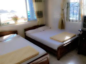 Phòng 2 Giường Đơn Nhìn ra Biển
