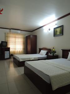 Phòng 2 Giường Đơn Nhìn ra Núi