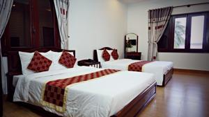 Phòng Deluxe có 2 Giường Đơn và Ban công
