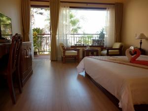 Phòng Senior Giường Đôi/2 Giường Đơn - Nhìn ra Bãi biển