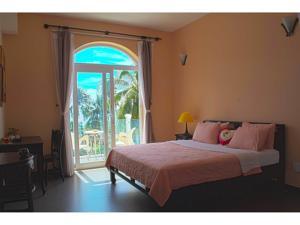 Phòng Giường Đôi có Ban công Nhìn ra Biển