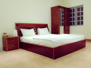 Phòng Giường Đôi với Vòi sen